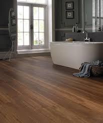 bathroom wood tile bathroom wall chrome vanity light wood plank
