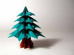 origami fir tree francesco guarnieri