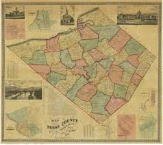 Reading Pennsylvania Map by Berks County Genealogical Society Online Research