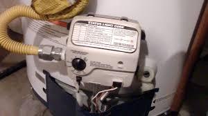 water heater pilot won t light how to light a honeywell water heater pilot youtube