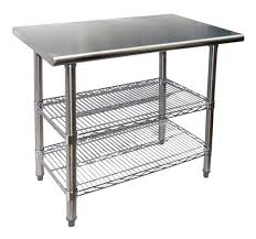 Best  Stainless Steel Work Table Ideas On Pinterest Stainless - Kitchen preparation table