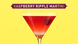 martini drink raspberry ripple martini cocktail chambord black raspberry liqueur