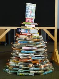 Christmas Tree Books by Library Displays Christmas Tree