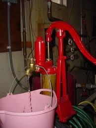 water well in basement lifting water through a deep well pump