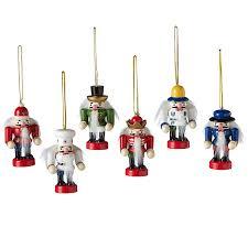 midwest cbk mini nutcracker ornaments set of 6