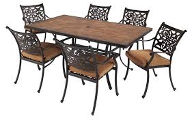 Metal Garden Table And Chairs Uk Hartman Celtic Aria 6 Seater Cast Aluminium Dining Set Complete