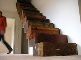 Box Stairs Design Creative Reuse Reclaimed Wood Box Stairs Wood Boxes Woods And Box