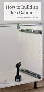 ikea kitchen base cabinet assembly how to assemble an ikea sektion base cabinet simple