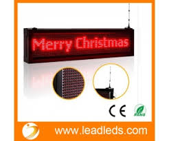 led outdoor scrolling display boards programmable by android wifi