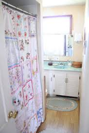 vintage shabby chic shower curtains home decor