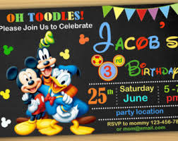 mickey mouse pool party invitation mickey mouse swim party