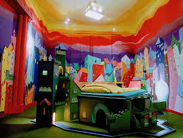 Kids Art Room by Kids Castle Interior Art Hotel Room In Wonderland