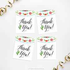 thank you tags printable thank you tags magic prints