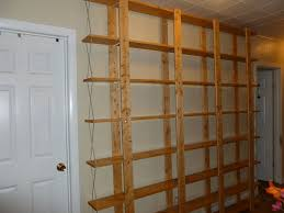 Wood Shelf Plans For A Wall by Cheap Easy Low Waste Bookshelf Plans 5 Steps With Pictures