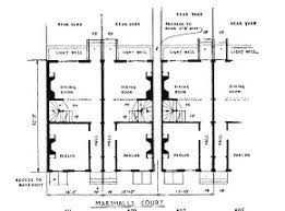 row home plans the city colonial and early philadelphia