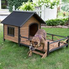 Houses With Porches Boomer U0026 George Lodge Dog House With Porch Large Hayneedle