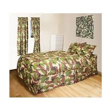 camouflage duvet cover and curtains army themed bedrooms