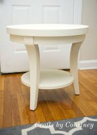 Chalk Paint Side Table Easy Side Table Makeover Fun With Chalk Paint