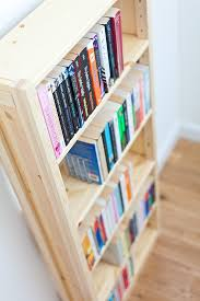 shallow bookcase for paperbacks shelfstore gallery of shelving bookcase ideas