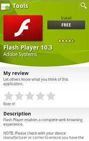 flash player android adobe flash 10 3 available in the android market android central
