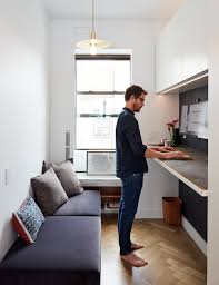 Small House Furniture At His 350 Square Foot Apartment Small Space Champion Graham Hill