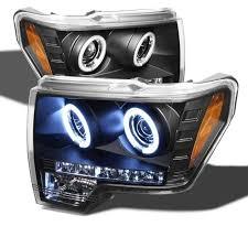 2012 ford f150 projector headlights 2010 2011 2012 2013 ford f 150 raptor ccfl halo projector light