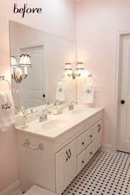 pink bathroom decor pendant light dark marble floating vanity sink