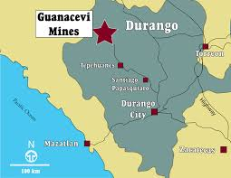 durango mexico map endeavour silver maps sections
