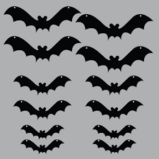 Halloween Bats To Color by Amazon Com 1 X Halloween Yard Decoration Scary Hanging Bats Home