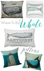 where to buy coastal beach whale decor whale pillow and coastal