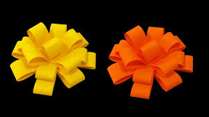 flower bow how to make paper flower bow easy hd