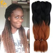 ombre kanekalon braiding hair ombre kanekalon braiding hair colors gray purple brown blonde 24