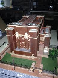 How To Design An Office The Larkin Administration Building A Model Is Completed U2013 Buffalo
