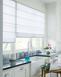 Kitchen Window Curtains by Roman Curtains In The Kitchen Modern Trends In Window Treatments
