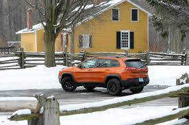 orange jeep 2016 2015 jeep cherokee trailhawk review wheels ca