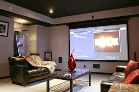 Inspirational Design Home Theater Living Room Theatre Pictures - Living room with home theater design