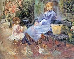 berthe morisot la fable the fable 1883 berthe morisot and