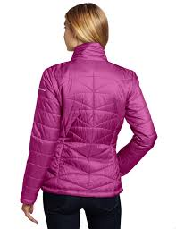 columbia morning light jacket columbia women s morning light insulated omni heat jacket pink small