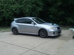 silver subaru wrx got my windows done today looks pretty nice on a silver wrx subaru