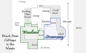 small guest house floor plans maggie valley bed and breakfast smoky mountain weddings