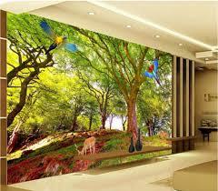 Living Room Wallpaper Scenery 3d Wall Murals Wallpaper For Living Room Walls 3 D Photo Wallpaper