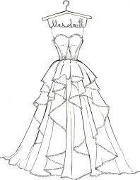 drawn wedding pretty dress pencil and in color drawn wedding