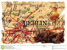 Berlin Map Berlin Old Map Royalty Free Stock Images Image 15774779