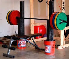 Bench Press By Yourself Homemade Squat And Bench Press Stand