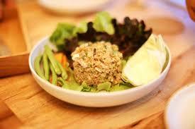 cuisine vegetalienne menu larb quinoa เมน ลาบคว น ว hua hin vegan cafe wine