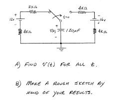 a find v t for all t b make a rough sketch by chegg com