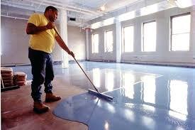 concrete painted floor u2013 laferida com