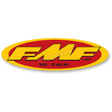 fmf large 23 in fmf logo trailer sticker 010594 dirt bike