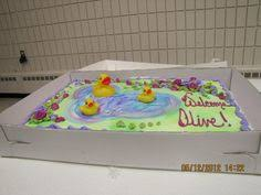 rubber duck in a tub baby shower cake rubber duck custom cake