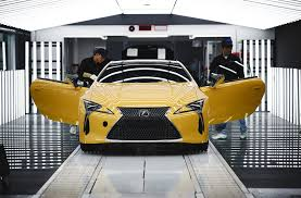 lexus is300 production years 2018 lexus lc coupe production ramps up in europe automobile